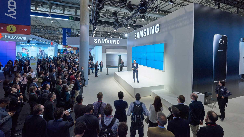 Samsung: MWC 2015, Barcelona